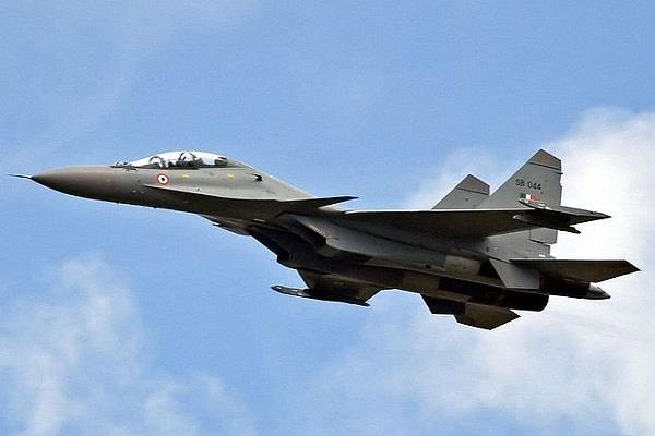 iaf is ready on both fronts from china and pakistan su 30 mki flies