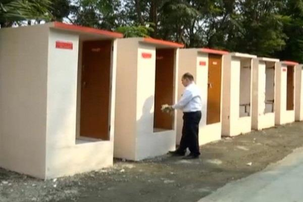 cag report reveals 11 percent toilets built in government places are not known