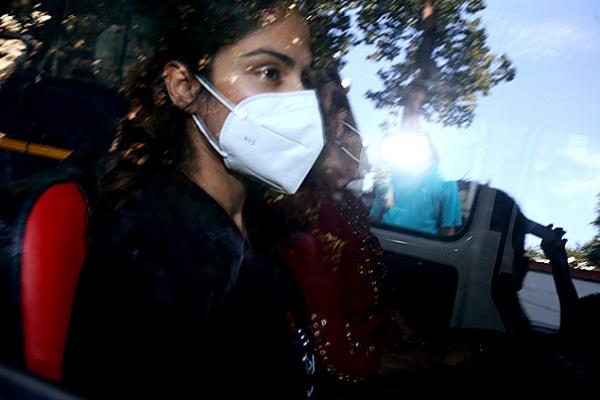 riya chakraborty s bail plea in drug case dismissed