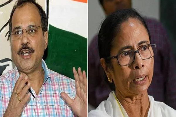 trinamool congress government trying to  bribe  hindus adhir ranjan