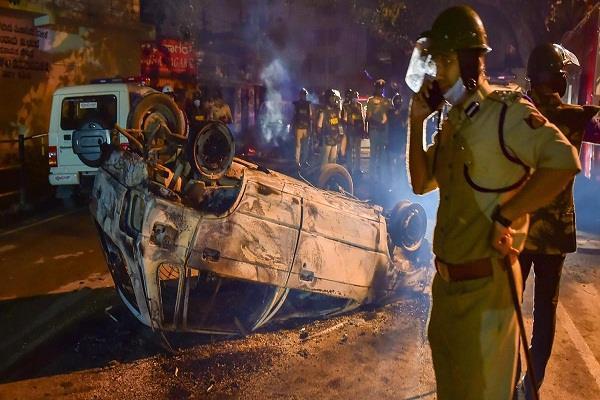 bengaluru violence nia raids 30 places arrests main conspirator