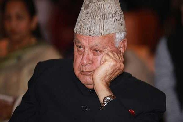 farooq abdullah arrived in delhi to attend the parliament session
