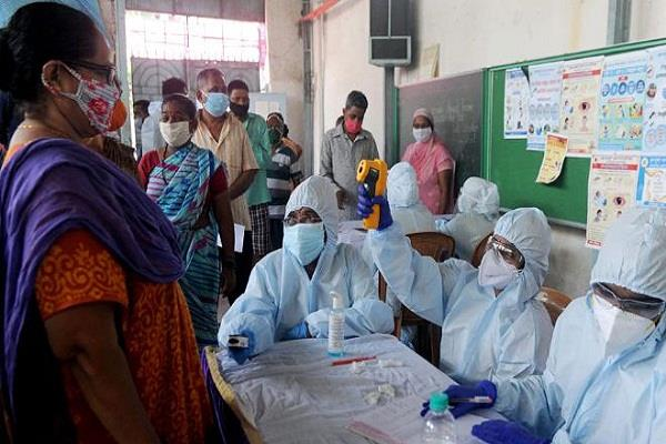 21 907 new cases of corona virus infection reported in maharashtra