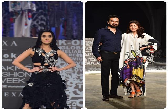 Lakme Fashion Week:  श्रद्धा कपूर बनी शो स्टॉपर, पति के साथ पहुंची काजल अग्रवाल ने लूटी लाइमलाइट