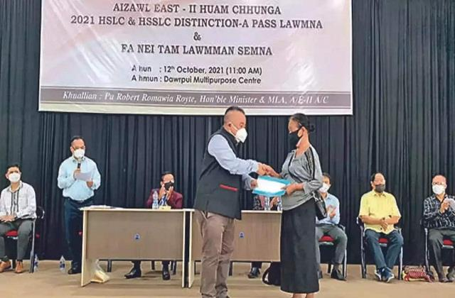 mizoram sports minister gave a reward of 1 lakh for producing 15 children