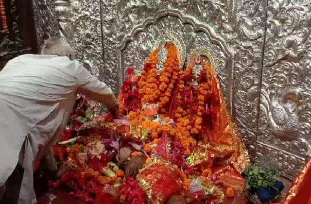 shardiya navratri started from today influx of devotees