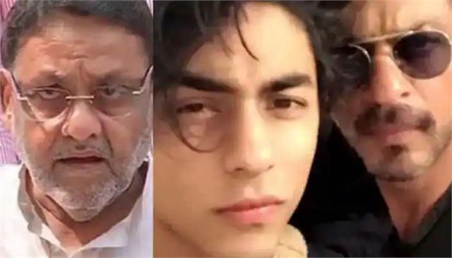ncb drug case mumbai cruise drug party nawab malik aryan khan