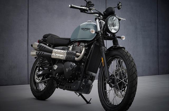triumph motorcycles launches street scrambler