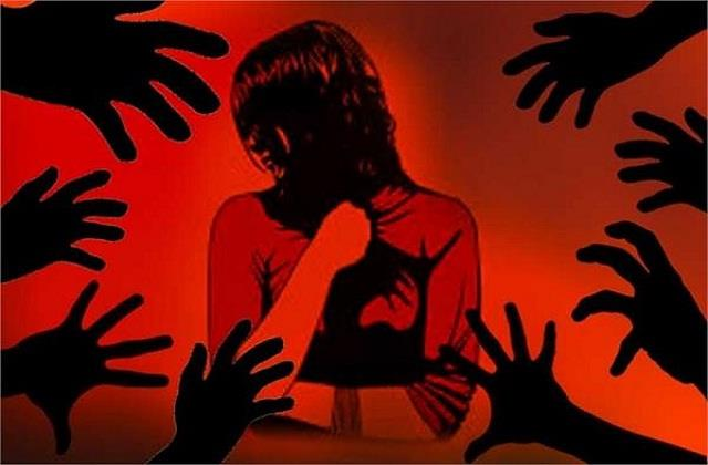 violence in bathinda gang rape with a woman who