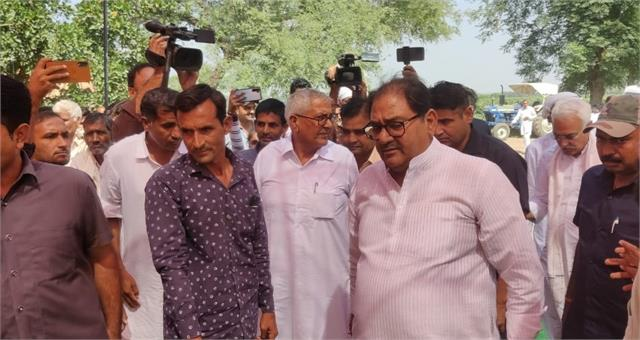 inld candidate abhay chautala visited ellenabad