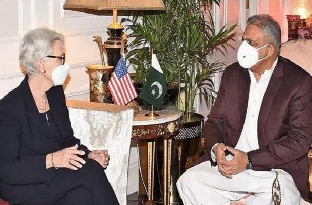 international news punjab kesari usa wendy sharman pakistan