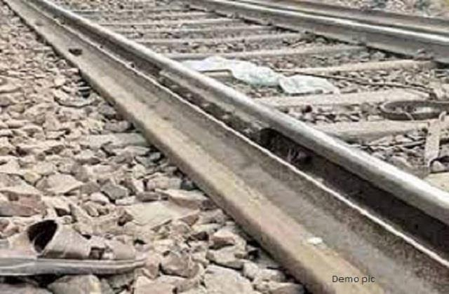 two people died after being hit by a train