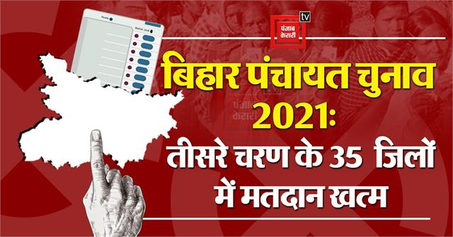 third phase polling continues