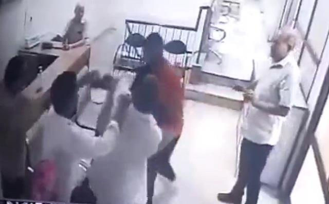 thief stole from above along with his companions beat up young man publicly