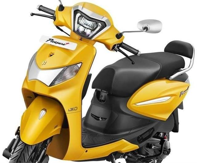 hero pleasure  xtec  launched in india priced at rs 61 900