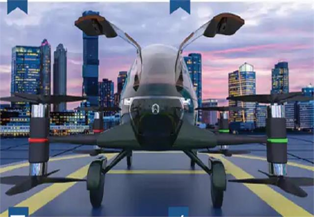 no need for runway take off can be done from roof itself flying car