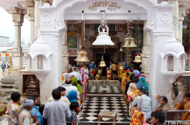 this incident happened with the devotee of up in bajreshwari temple