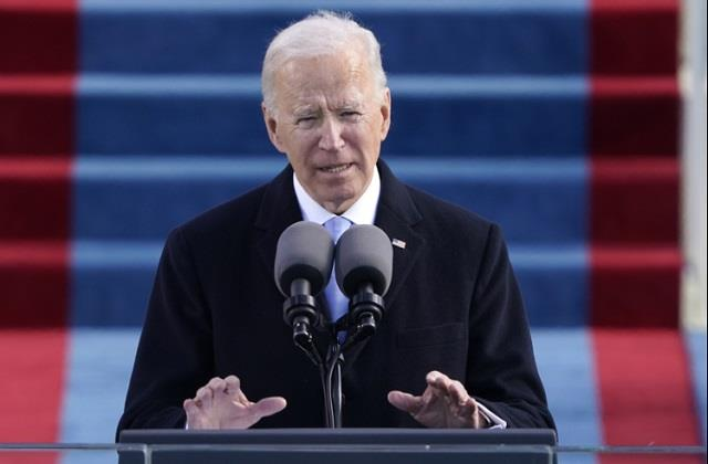 biden attacked racism and political violence