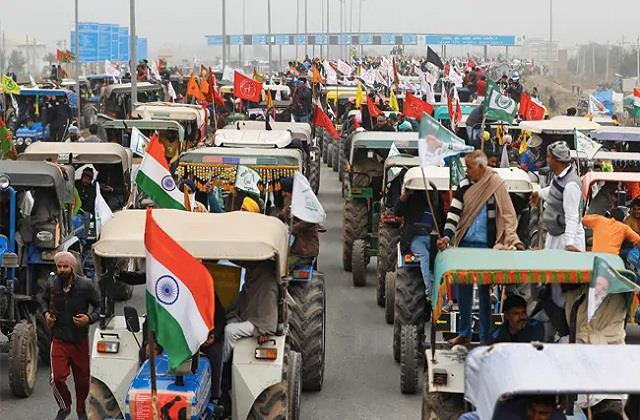 farmers will take out tractor parade on republic day