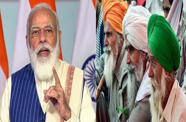 modis half hearted attitude towards farmers