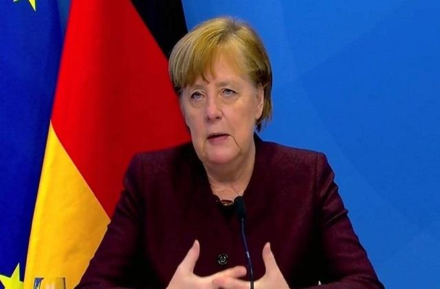 industrialized countries worry more about themselves merkel