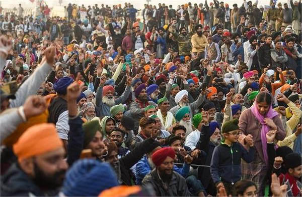 kisan tractor march center forced to bow to the demands of farmers