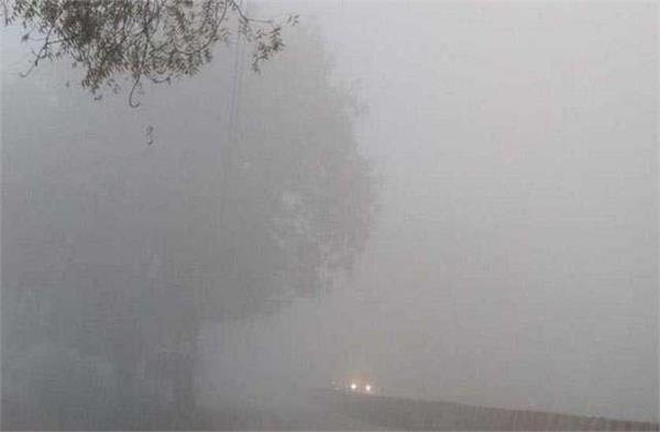 entire north india wrapped in thick fog wrap cold outbreak increased