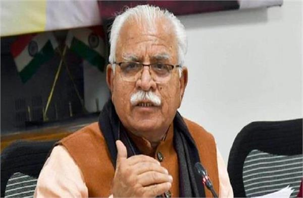 cm manohar lal arrives in delhi for the fifth time in two weeks