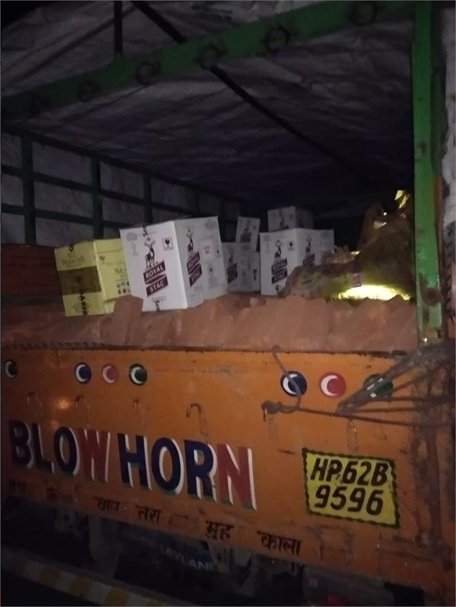 28 boxes of liquor being sheltered for election caught