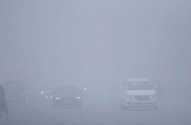 visibility less than 50 meters in chandigarh