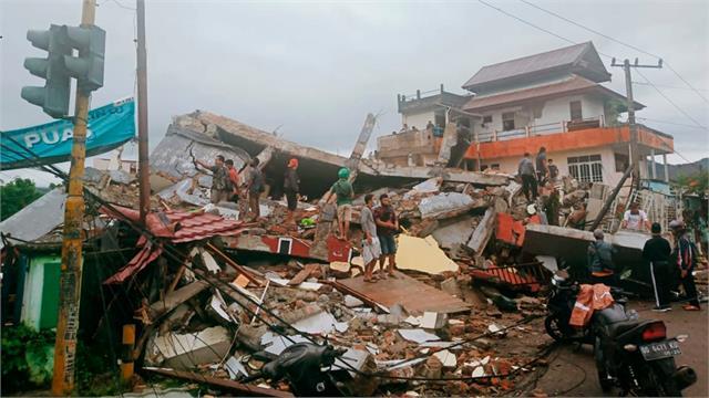 at least 42 killed as earthquake rocks indonesia