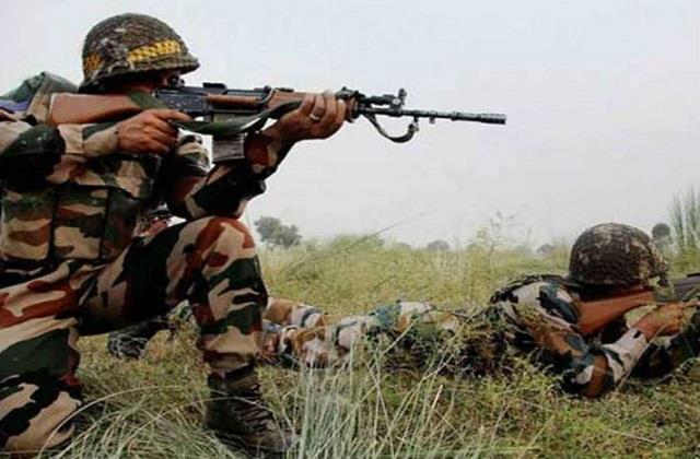 pakistan ceasefire violation on loc