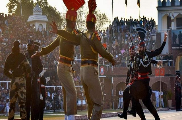 coordinated parade this year at attari border on republic day