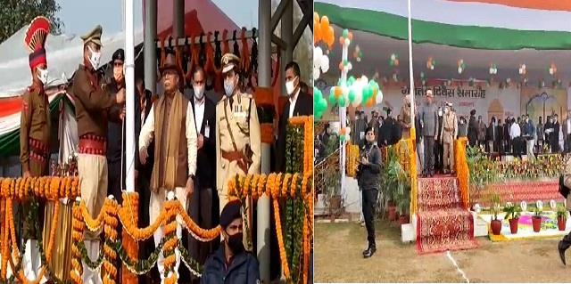 republic day cm khattar dushyant chautala hoisted flag