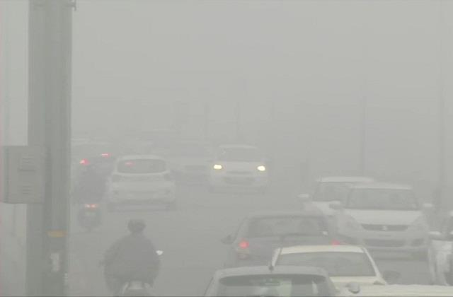 outbreak of cold and fog in north india