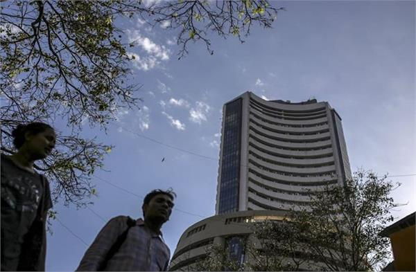 market falls over 100 points in early trade nifty below 14100 points