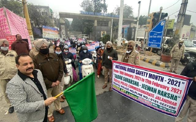 national road safety month women police also caught command