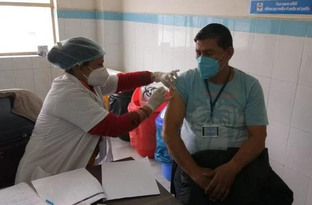 corona vaccination rehearsal for the second time in uttarakhand
