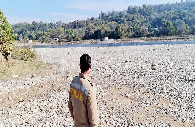 close monitoring of villages along pong lake