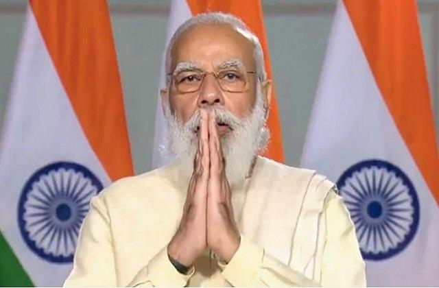pm modi wishes the new year to the countrymen