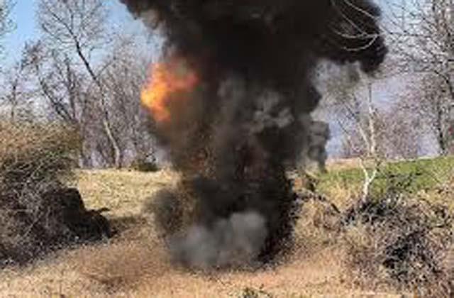 solider injured in poonch mine blast