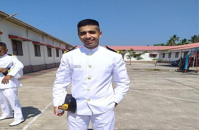 punjab s son holds a large position in the indian navy