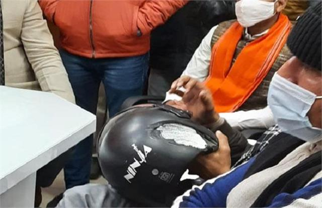 noida deadly attack on rss worker reached on collection shri ram temple
