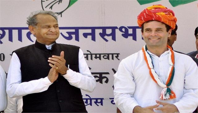 ashok gehlot can be made congress president if rahul gandhi is not ready