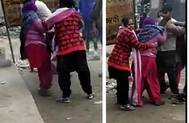 mother was beaten up for not withdrawing the case