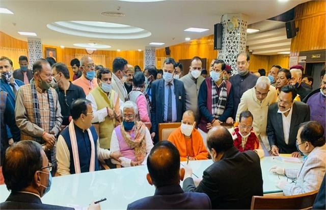 up legislative council election all 10 bjp candidates filed nomination
