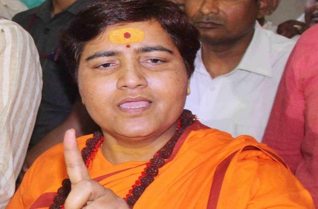 sadhvi pragya said halali dam reminds hindus to be halal