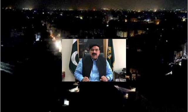 sheikh rashid says  farmers  movement in india  responsible for blackout