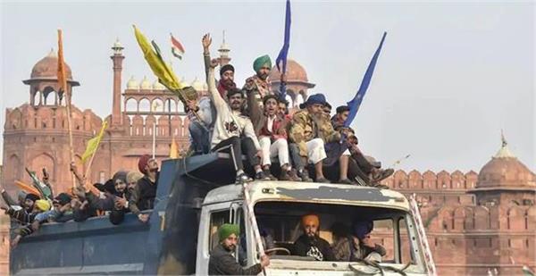delhi violence lakha sidhana gangster of punjab came with deep sidhu