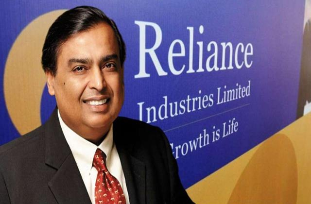 reliance shares gained nearly 5 in two days market cap crossed 13 lakh crores